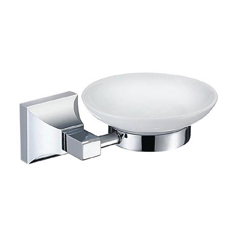 Heritage Chancery Soap Dish & Holder - Chrome - ACHSPDC