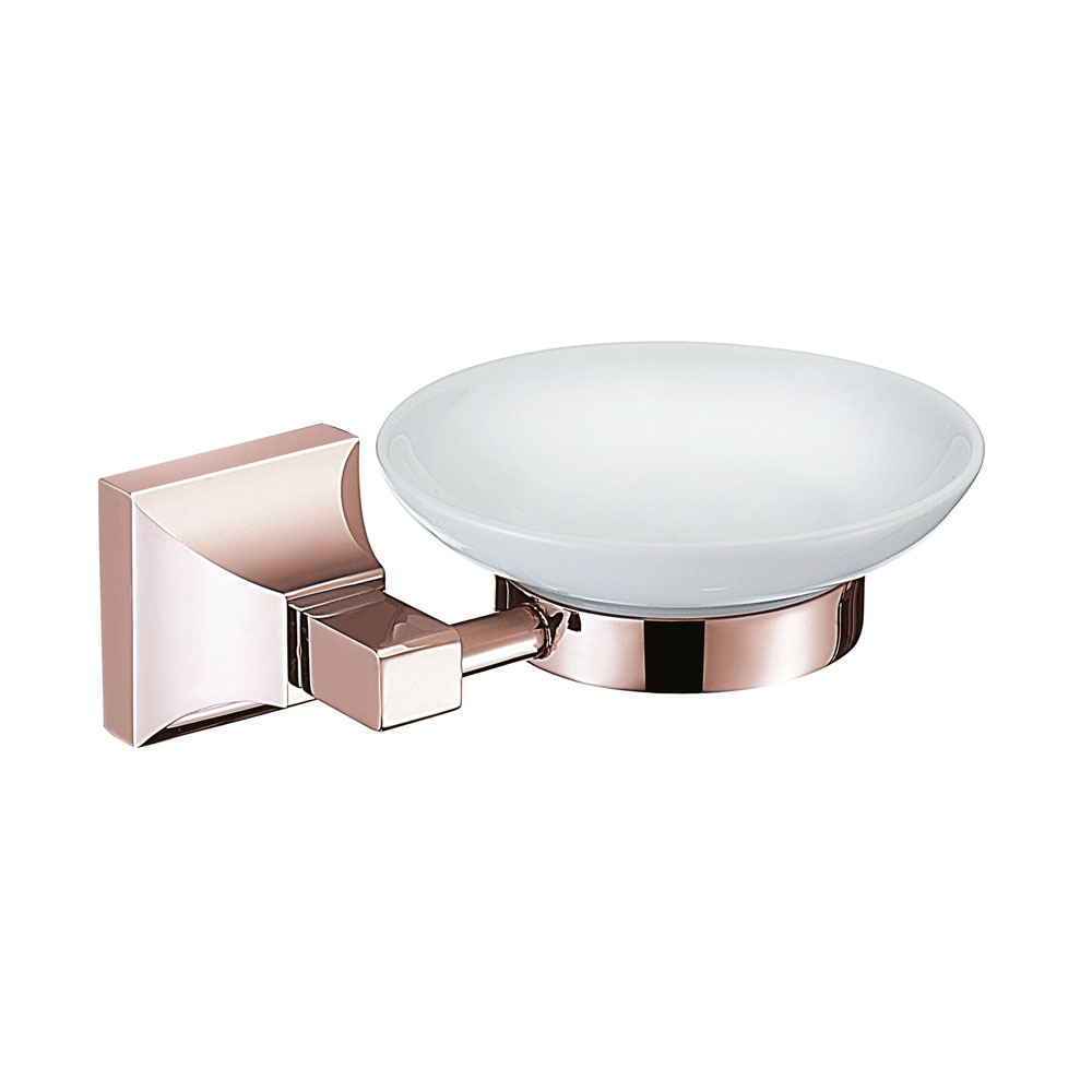 Heritage Chancery Soap Dish - Rose Gold - ACHSPDRG