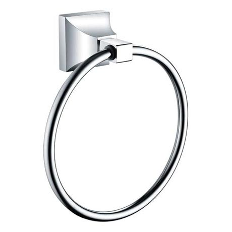 Heritage Chancery Towel Ring - Chrome - ACHTRGC