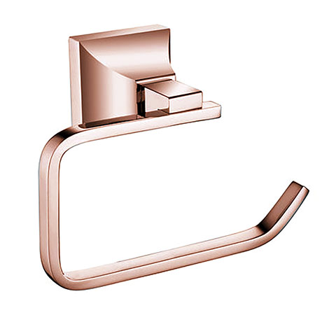 Heritage Chancery Toilet Roll Holder - Rose Gold - ACHTRHRG