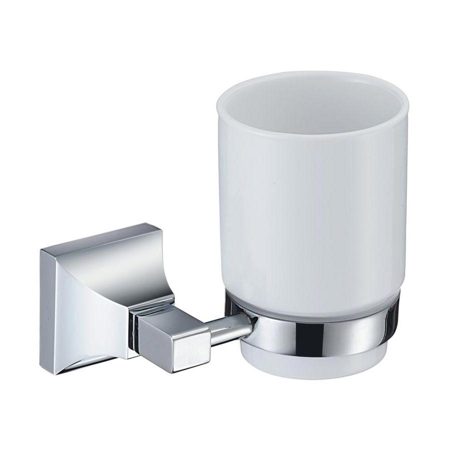 Heritage Chancery Tumbler & Holder - Chrome - ACHTUHC profile large image view 1