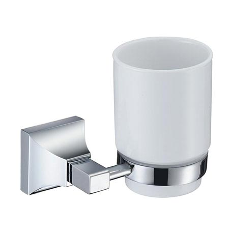 Heritage Chancery Tumbler & Holder - Chrome - ACHTUHC