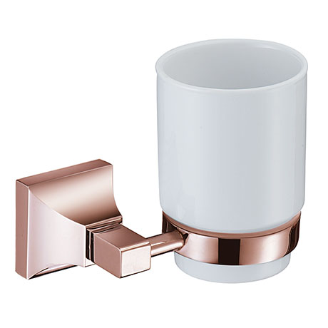 Heritage Chancery Tumbler & Holder - Rose Gold - ACHTUHRG