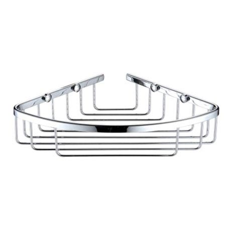 Heritage Corner Wire Basket - Chrome - ACOB02C