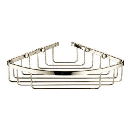 Heritage Corner Wire Basket - Vintage Gold - ACOB02G