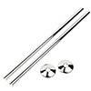 Talon Snappit Towel Rail Pipe Covers & Collars 500mm - Chrome - ACSNC/K1 profile small image view 1