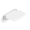 HiB White Shower Seat - ACSSWHI01 profile small image view 1