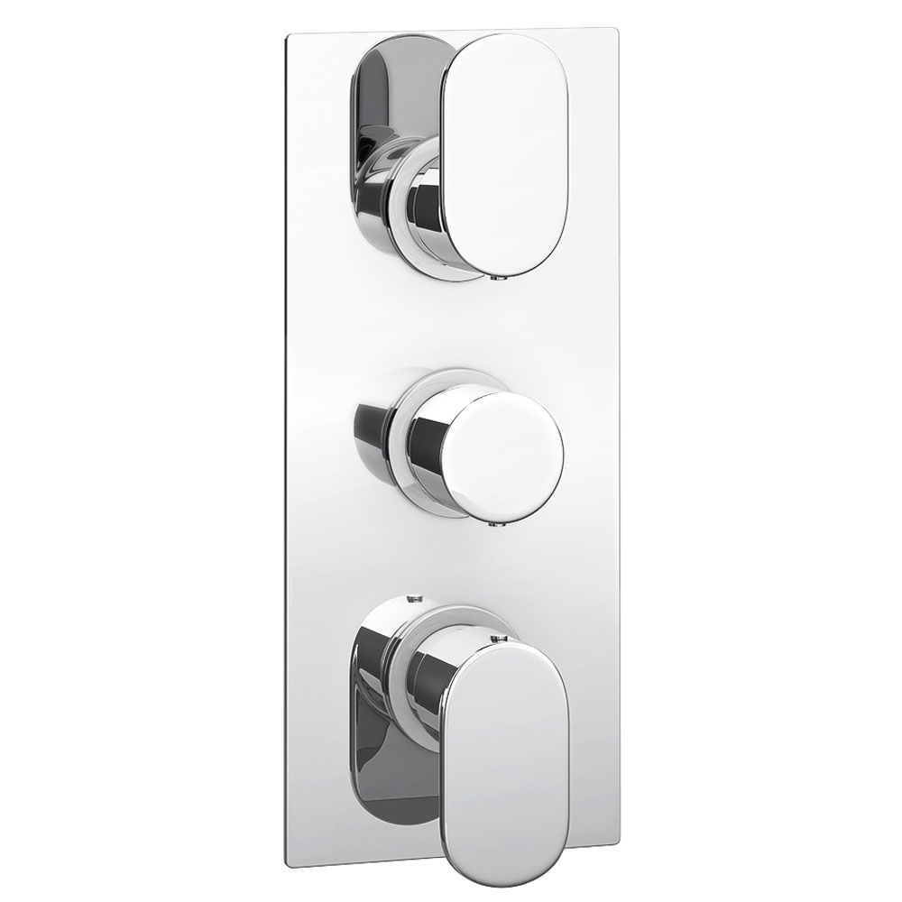 Amos Concealed Thermostatic Triple Shower Valve