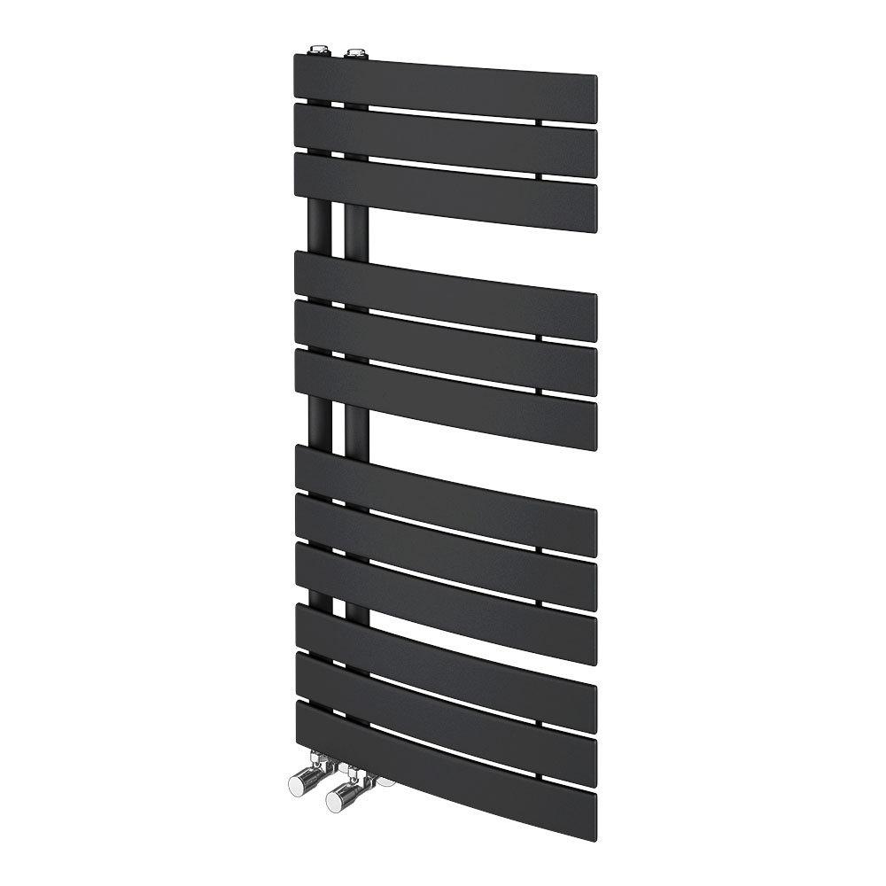 Delta Anthracite Designer Heated Towel Rail 1080 x 550mm