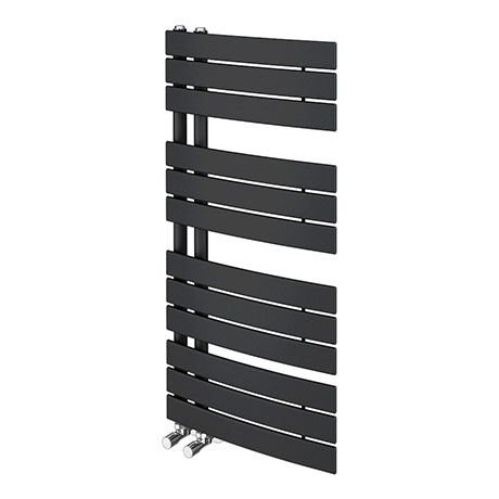 Delta Anthracite Designer Heated Towel Rail 1080 x 550mm