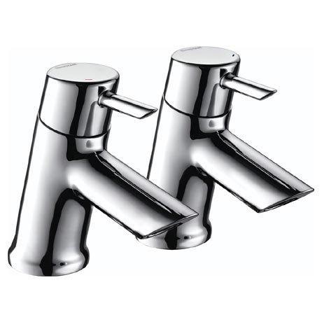 Bristan - Acute Easyfit Basin Taps - Chrome - AE-1/2-C