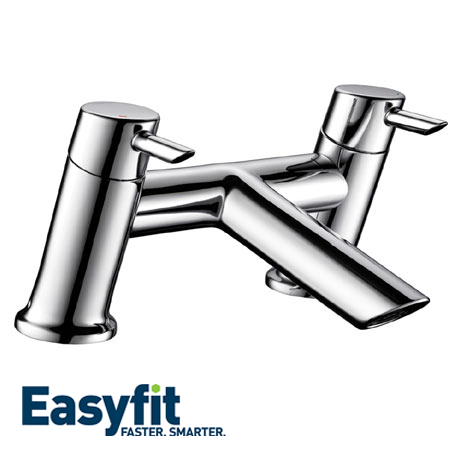 Bristan Acute EasyFit Bath Filler - Chrome - AE-BF-C