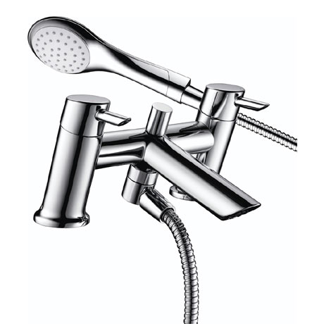 Bristan - Acute Easyfit Bath Shower Mixer - Chrome - AE-BSM-C