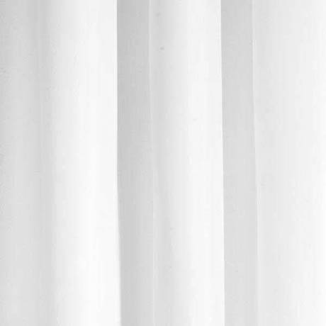 Croydex White Polyester Hook N Hang Shower Curtain W1800 x H1800mm - AF289022