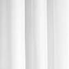 Croydex White Polyester Hook N Hang Shower Curtain W1800 x H1800mm - AF289022 profile small image view 1