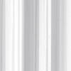 Croydex White Regency Stripe Polyester Hook N Hang Shower Curtain W1800 x H1800mm - AF289122 profile small image view 1