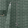 Ultra Traditional Exposed Thermostatic Shower Package with Twin Valve & Riser Kit profile small image view 1