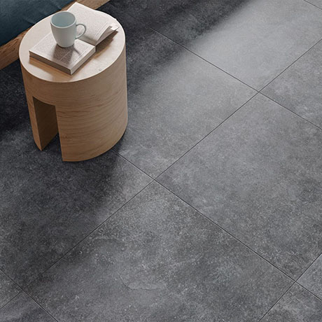 RAK Fashion Stone Grey Wall and Floor Tiles 600 x 600mm