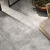 RAK Fashion Stone Light Grey Wall and Floor Tiles 600 x 600mm Small Image