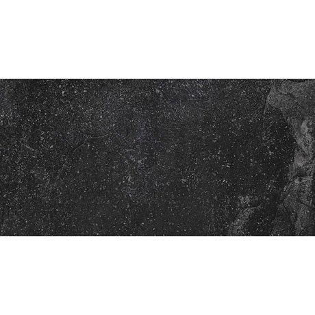 RAK Fashion Stone Black Wall and Floor Tiles 300 x 600mm