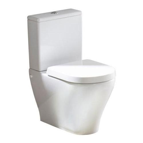 Tavistock Agenda Close Coupled WC & Soft Close Seat Large Image