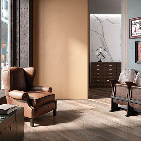 RAK Select Wood Nut Floor Tiles 195 x 1200mm