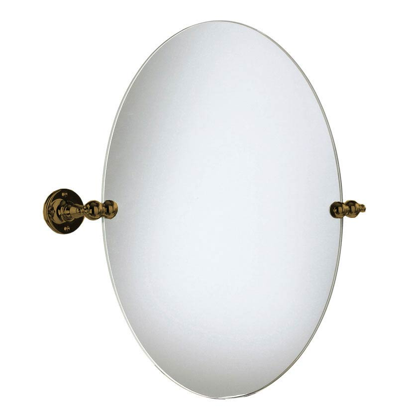 Heritage - Oval Swivel Mirror - Bronze - AHBR17 Large Image