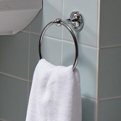 Heritage - Towel Ring - Chrome - AHC01 Profile Large Image