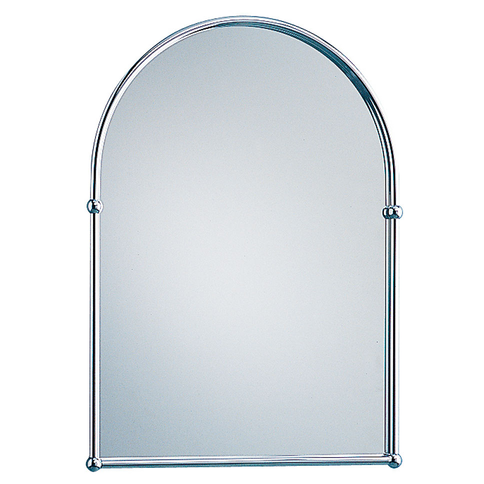 Heritage - Arched Mirror - Chrome - AHC09 Large Image