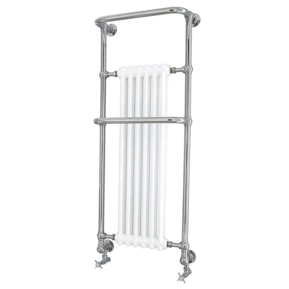Heritage - Cabot Wall Mounted Heated Towel Rail - AHC102 Large Image