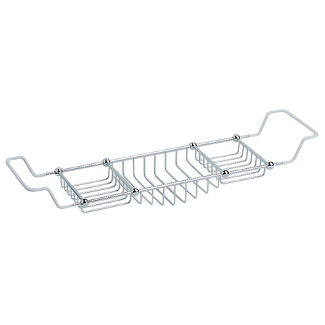 Heritage - Bath Rack - Chrome - AHC11