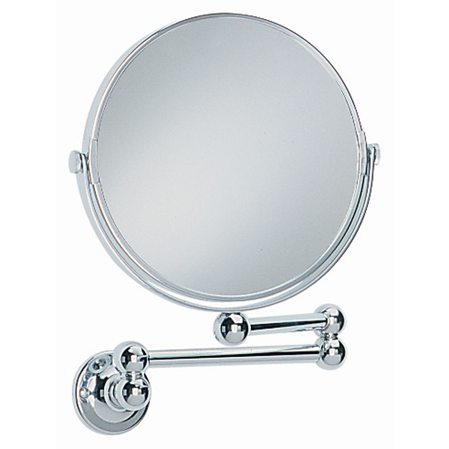 Heritage - Extendable Bathroom Mirror - Chrome