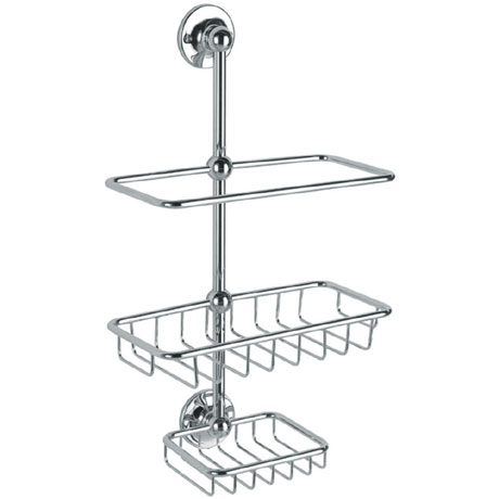 Heritage - Shower Tidy - Chrome - AHC19