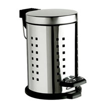 Heritage - 3 Litre Stainless Steel Pedal Bin - AHC44 Medium Image