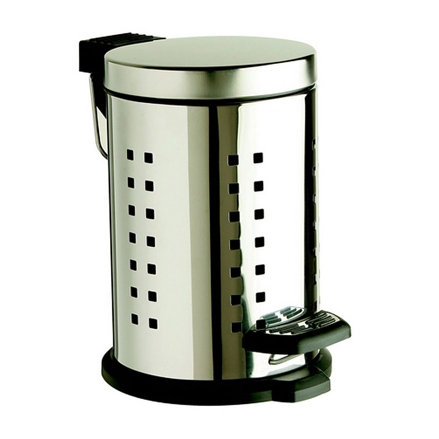 Heritage - 3 Litre Stainless Steel Pedal Bin - AHC44 Large Image