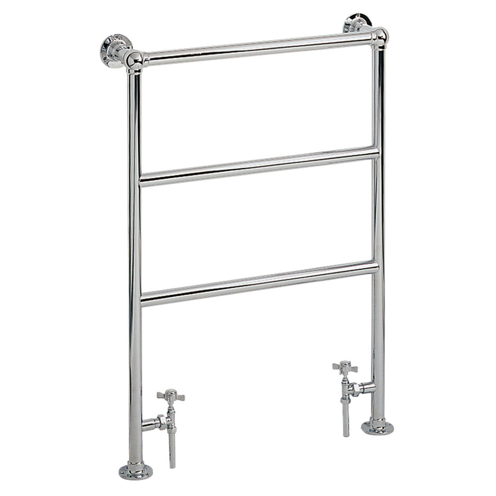 Heritage - Victorian Heated Towel Rail - Chrome - AHC70 profile large image view 1