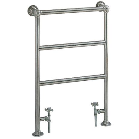 Heritage - Portland Heated Towel Rail - Chrome - AHC76