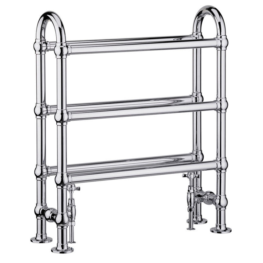 Heritage - Clothes Horse Heated Towel Rail - AHC77 Large Image