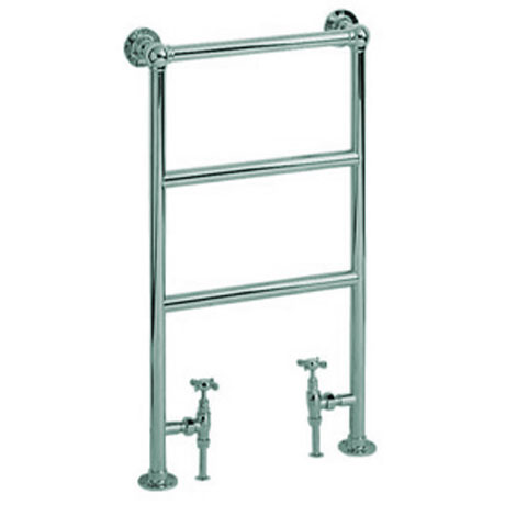 Heritage - Portland Cloakroom Heated Towel Rail - AHC79 profile large image view 1