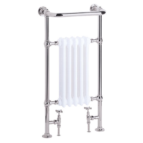 Heritage - Baby Clifton Heated Towel Rail - Chrome - AHC80