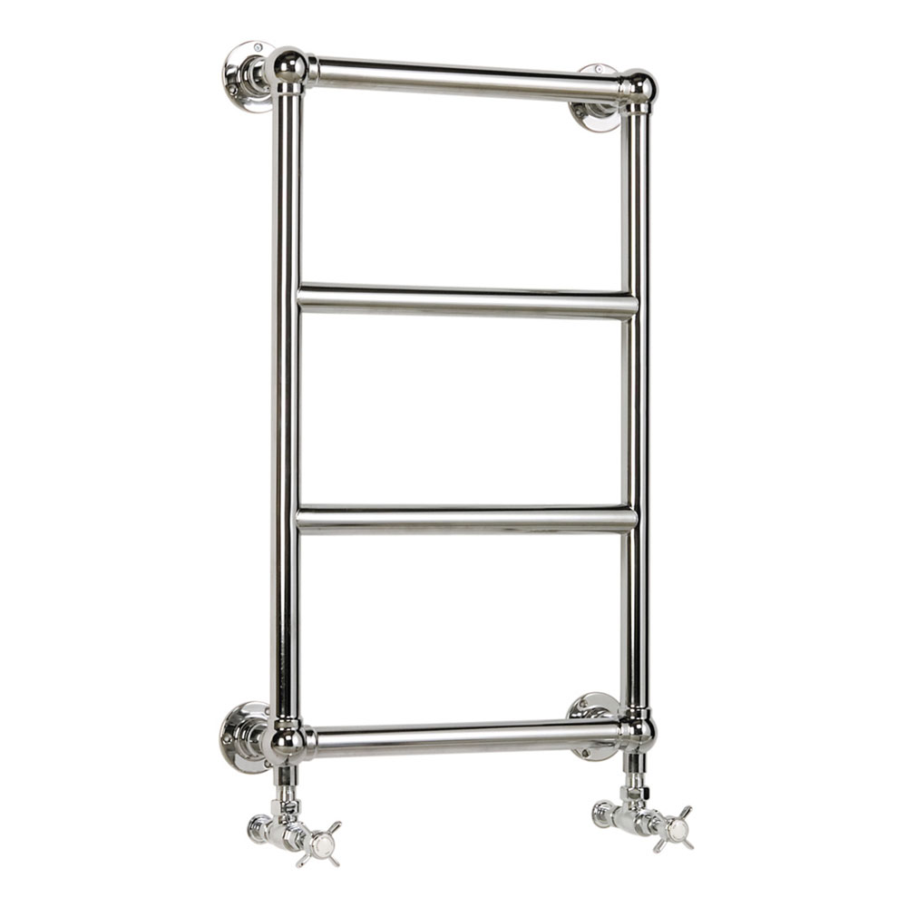 Heritage - Portland Wall Mounted Heated Towel Rail - AHC94 profile large image view 1