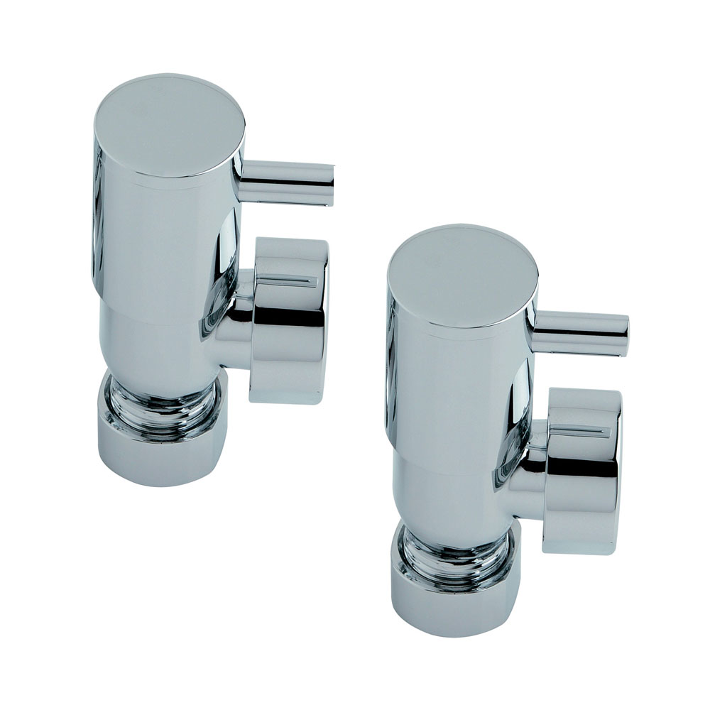Heritage - Lever Heated Towel Rail Valves - AHLC75 Large Image