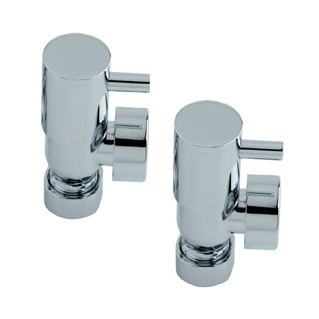 Heritage - Lever Heated Towel Rail Valves - AHLC75