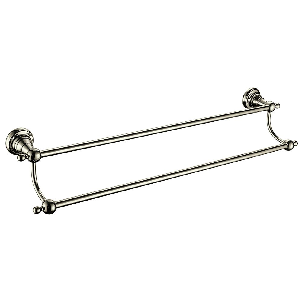 Heritage Holborn Double Towel Rail - Vintage Gold - AHODTRG profile large image view 1