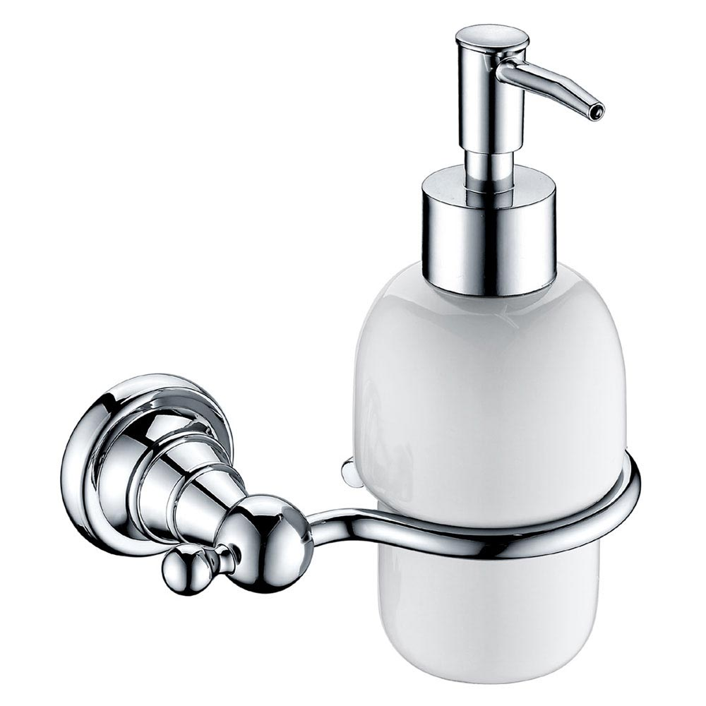 Heritage Holborn Soap Dispenser - Chrome - AHOSDIC Large Image