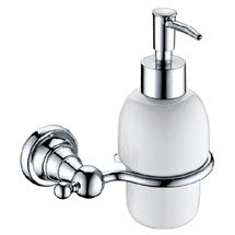 Heritage Holborn Soap Dispenser - Chrome - AHOSDIC Medium Image
