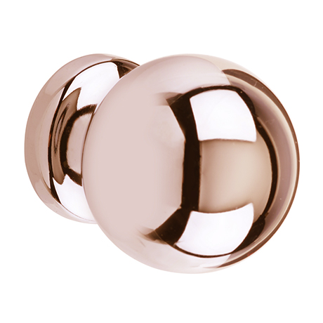 Heritage Rose Gold Round Knob - AHRG20