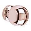 Heritage Rose Gold Round Knob - AHRG20 profile small image view 1