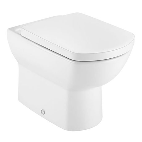 Roca Aire Back-to-Wall Toilet + Soft Close Seat