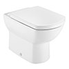 Roca Aire Back-to-Wall Toilet + Soft Close Seat profile small image view 1